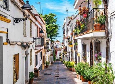 Straten van Marbella